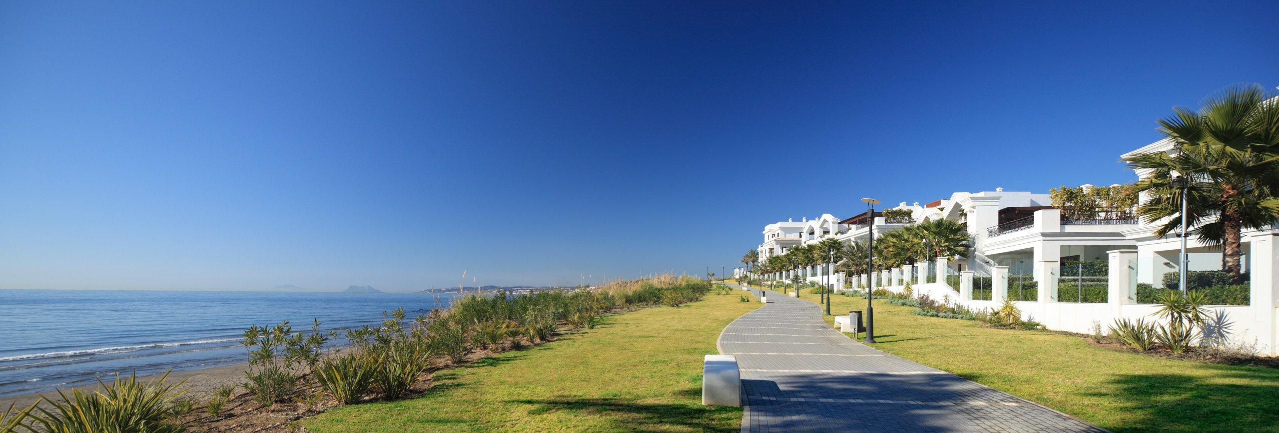 Imagen de: Doncella Beach - Doncella Beach | Элитный жилой комплекс класса люкс, расположенный в Эстепоне (Коста-дель-Соль) на первой линии пляжа: апартаменты, пентхаусы и дуплексы от 1 до 5 спален.