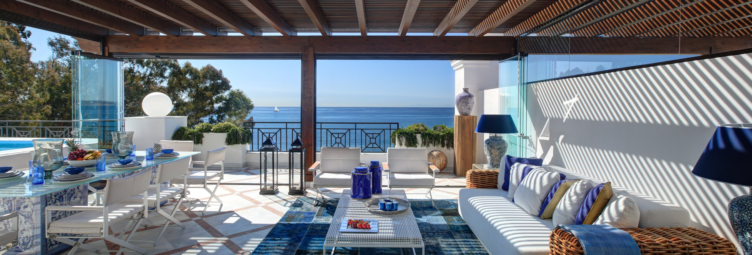 Photo of: 5 Bedroom Duplex Penthouse - Doncella Beach | Deluxe Residential complex in the town of Estepona (Costa del Sol), beachfront apartments, penthouses and duplex from 1 to 5 bedrooms.