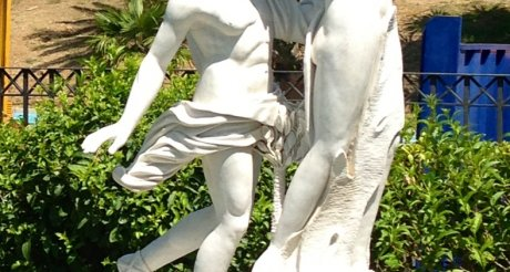 Click to see photo of: Doncella Beach is embellished with Sculptures   Doncella Beach