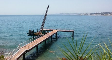 Click to see photo of: PIER IN DONCELLA BEACH | Doncella Beach